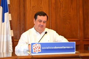 Ernesto Gasco, PSE-EEko bozeramailea. (Argazkia: Agurtzane Altuna)