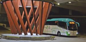 Autobus geltokia