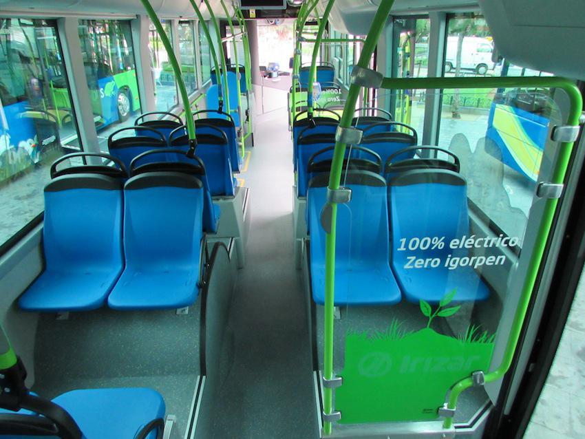 Dbus-eko autobus elektriko bat