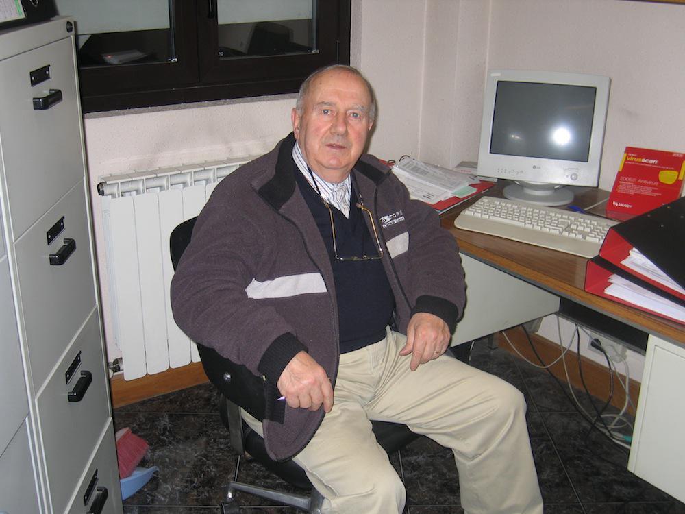 Jose Migel Mendiburu, 2005. urtean. (Argazkia: Raul Perez)