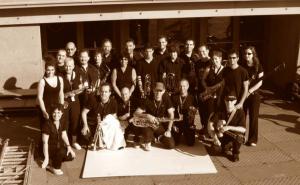 Donostiako Musika eta Dantza eskolako 'Big Band'-eko musikariak. (Argazkia: Daba Daba)