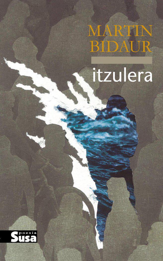 Maddi Zumalabe Irastorza da 'Itzulera' poesia liburuaren azalaren egilea. (Argazkia: Susa argitaletxea)