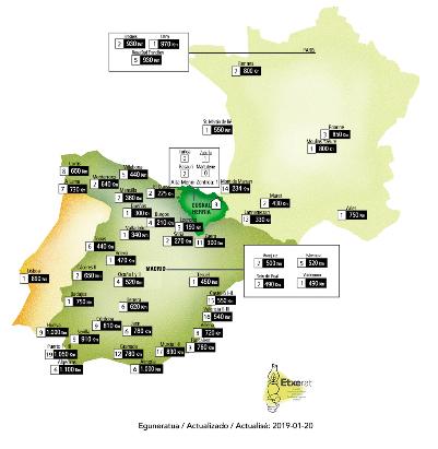 dispersio mapa