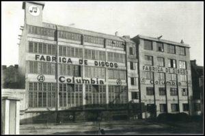 Columbia fabrika