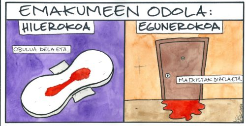 Mikel Orbegozo komikia