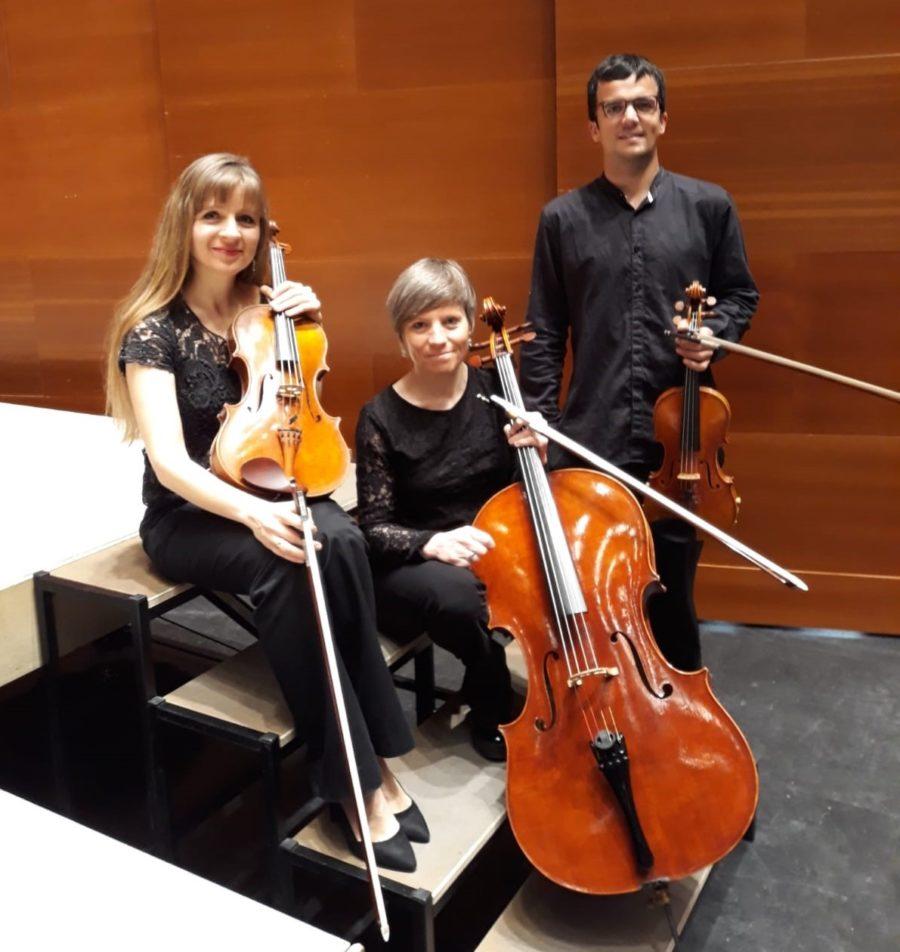 Euskadiko Orkesta Sinfonikoaren Alma hirukotea. (Argazkia: Euskadiko Orkestra Sinfonikoa)