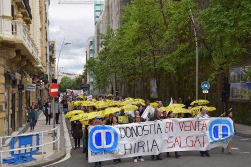 Donostia Defendatuz manifestazioa