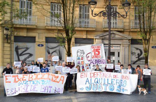 Donostialdeko maizterren sindikatuaren sorreran lan egiteko asanblada irekiaren deialdia. (Argazkia: Maizterren sindikatua)