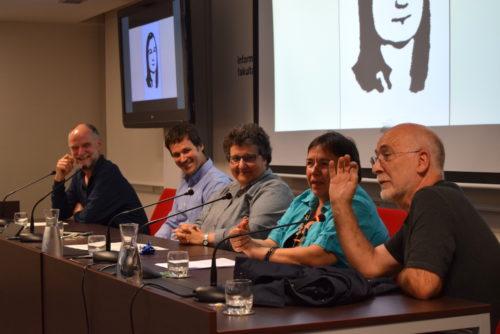 Gladys del Estali omenaldia EHUko Informatika fakultatean, bere heriotzaren 40. urteurrenean. (Argazkia: Irati Salsamendi)