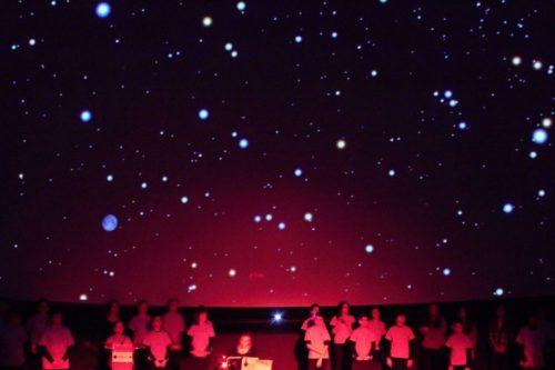 Orfeoi Txikia Planetarioan
