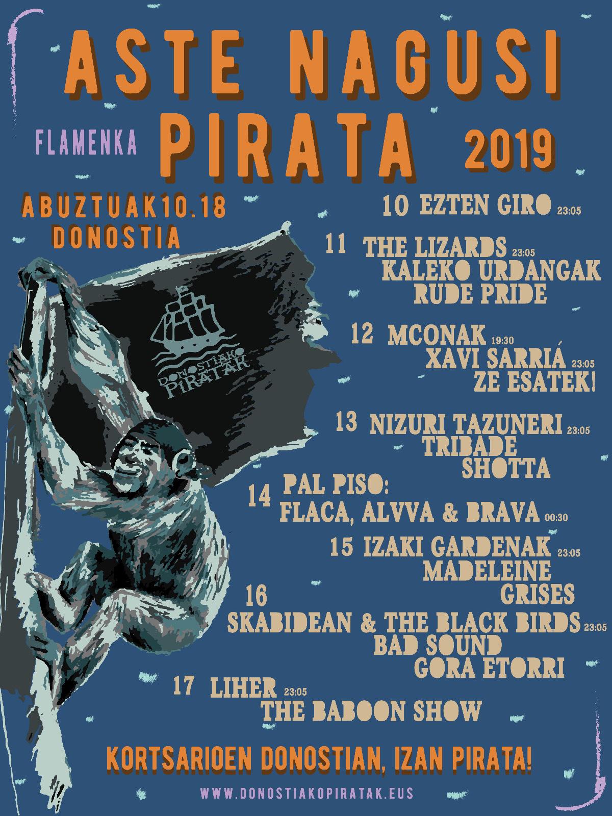 piratak flamenka gunea