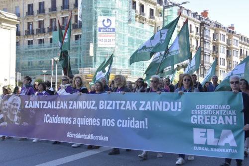 Zaintzaileak_greban