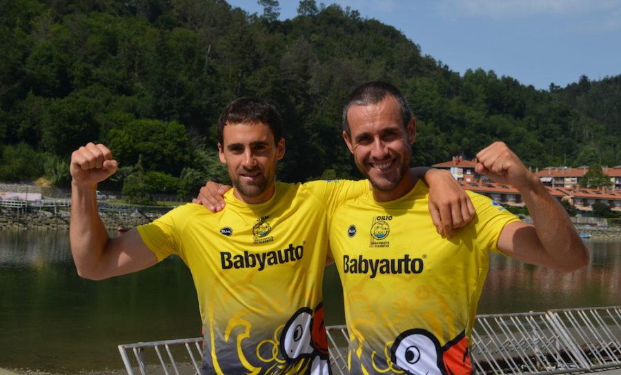 Ioritz Etxeberria eta Fernando Balenziaga