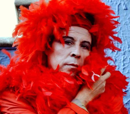 Pedro Lemebel ikuskizun artista eta Latinoamerikako queer mugimenduaren aitzindariaren inguruko dokumentala da 7. Sebastiane Latino Sarietako hautagaietako bat. (Argazkia: Sebastiane Latino)