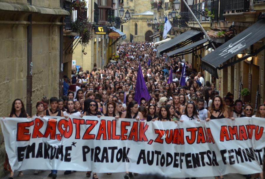 Manifestazioa sexu erasoa Donostia
