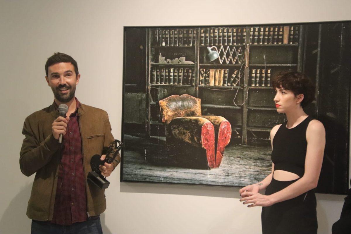BTeam Pictures produktorako Alex Lafuentek jaso zuen Sebastiane saria, Alejandro Landesen izenean. (Argazkia: @SebastianeAward)