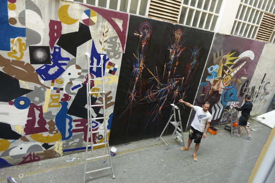 Dabadaba street art