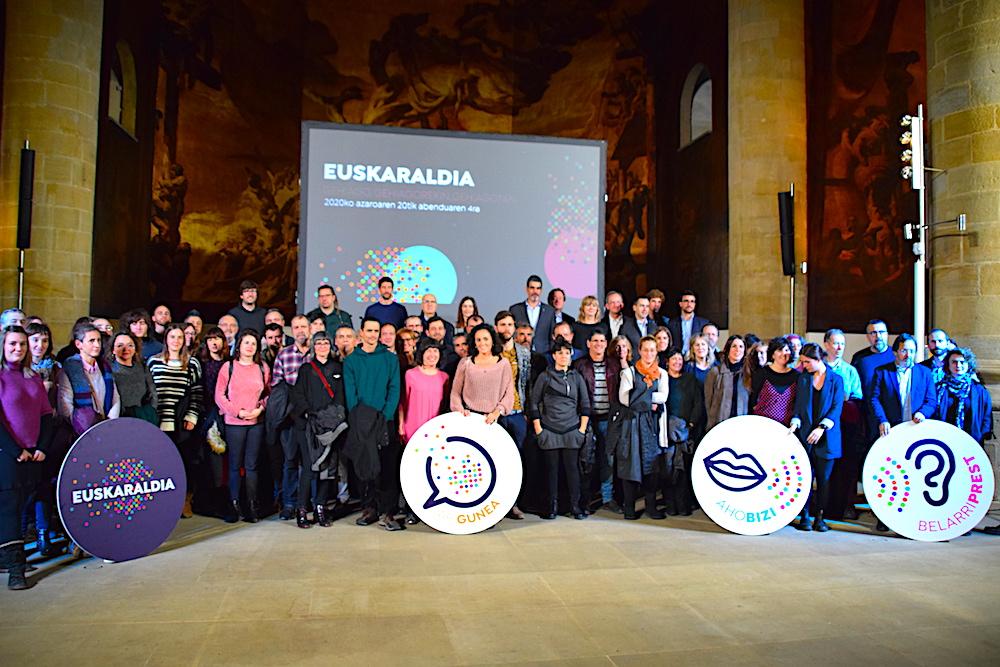 2020ko Euskaraldiaren aurkezpen ekitaldia (Argazkia: Euskaraldia)