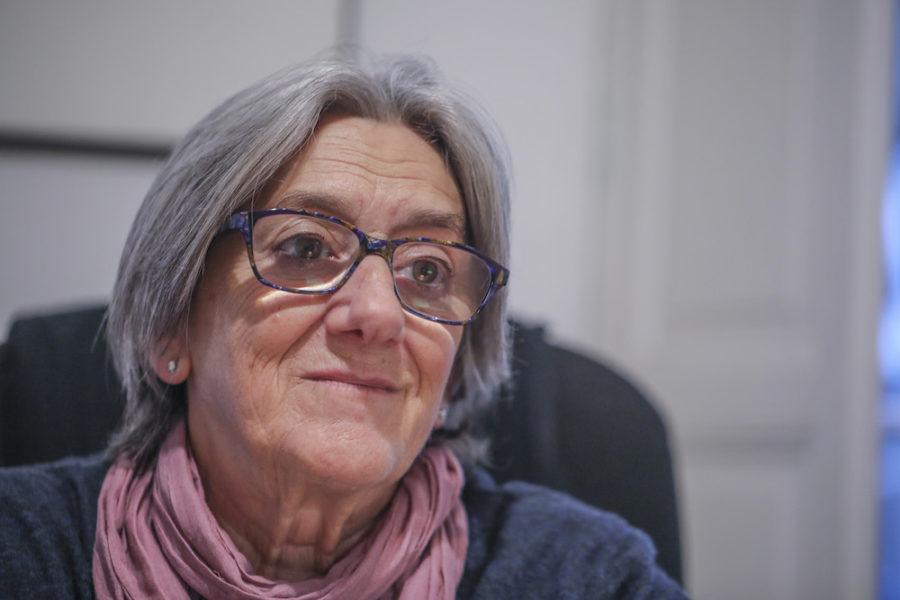 Juana Aranguren, abokatua eta militante feminista. (Argazkia: Joseba Parron)