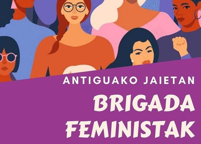 brigada feministak antigua