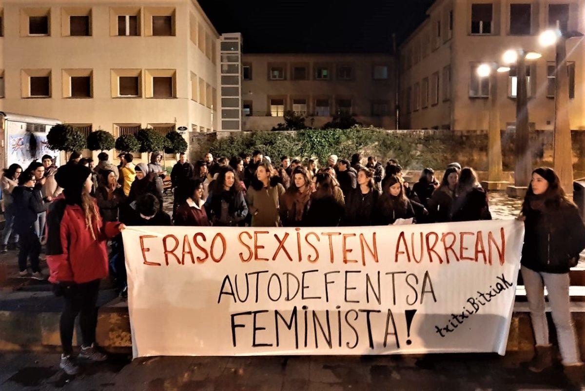 Elkarretaratzea Antiguan sexu eraso baten aurka