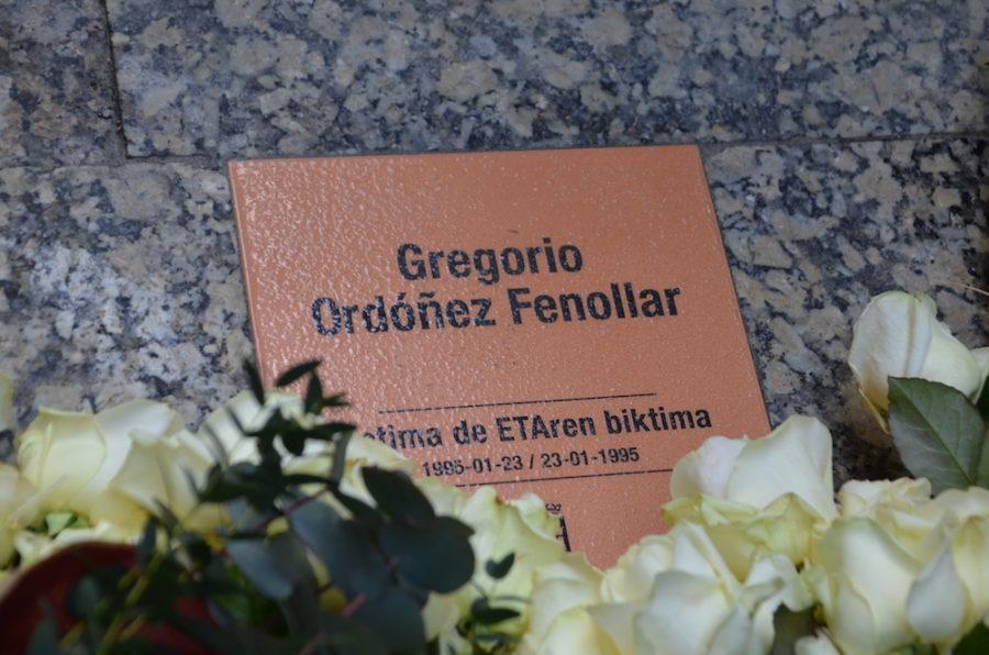 Gregorio Ordonezen omenezko plaka