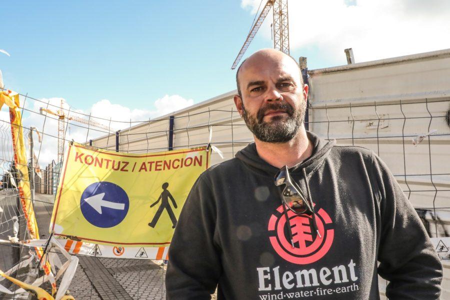 Felix Llorente Altzako obrako langilea