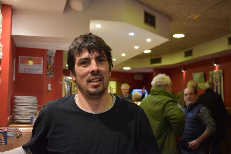 Mikel Benito, Ordizia tabernako jabeetako bat. (Argazkia: Irati Salsamendi)