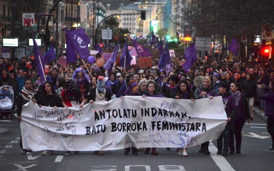 Martxoaren 8ko manifestazio feminista