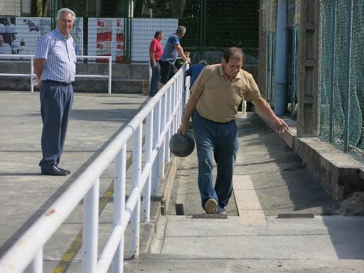 Pedro Lazkano Arrieta, Aieteko bolatokian. (Argazkia: Lantxabe auzo elkartea)