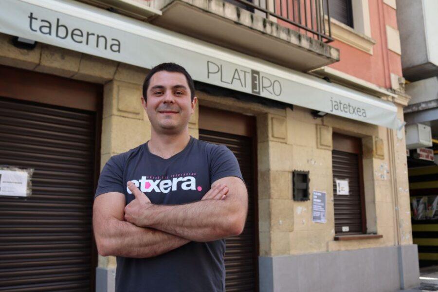 Benat Lusarreta Platero taberna