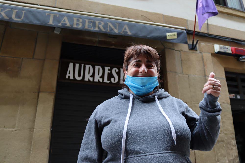 Elena Ginea Aurresku taberna