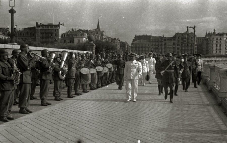 Franco donostia 1948