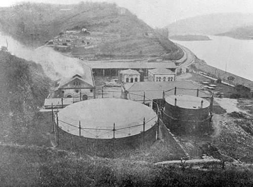 morlans gas fabrika
