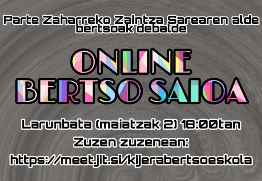 Online bertso saioa Parte Zaharra 2