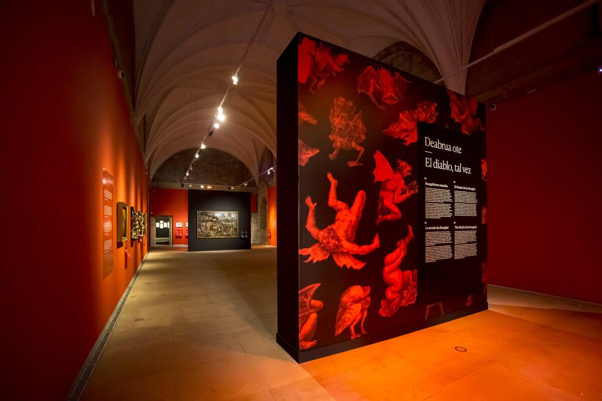 'Deabrua ote. Bruegeldarren mundua' erakusketa, San Telmo Museoan. (Argazkia: Oskar Moreno)