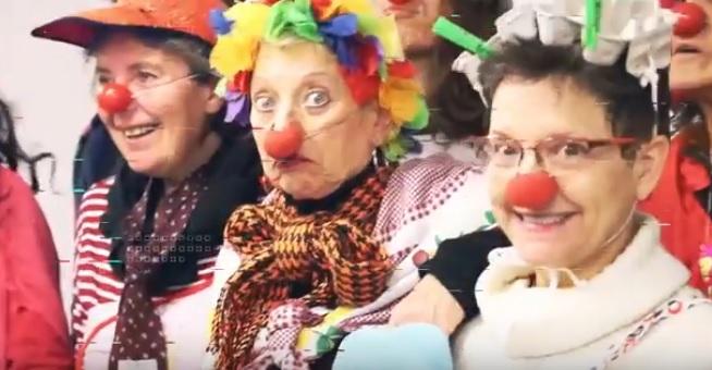 Emakumeen Etxeko Clown ikastaroko partaide batzuk. (Argazkia: Emakumeen Etxea)