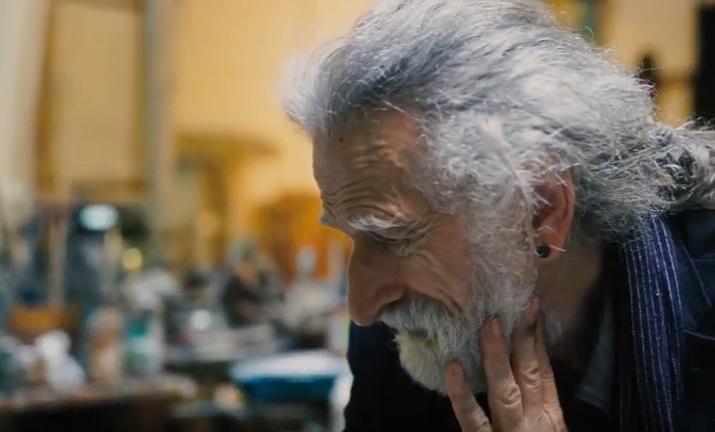 Juan Luis Goenaga artista. (Argazkia: Kubo aretoa)