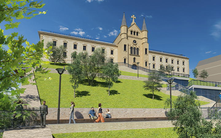 San Bartolome muinoan parke bat eraikiko dute. (Argazkia: San Bartolome Muinoa)