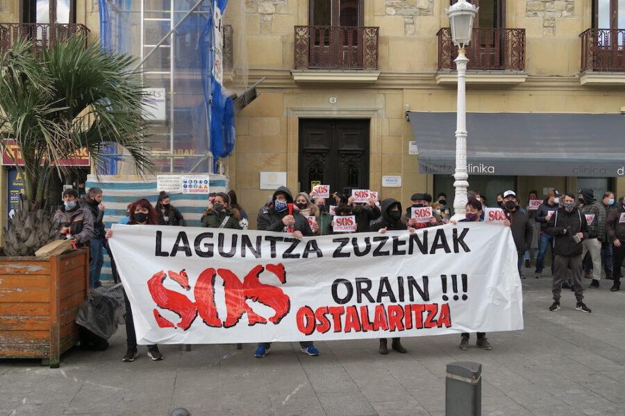 Abenduaren 12an, larunbata, manifestazioa egingo dute Donostian, 17:30ean hasita. (Argazkia: Mikel Elkoroberezibar Beloki)
