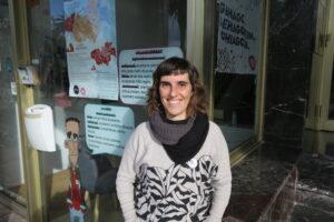 Ainara Vazquez Bagera Euskaltzaleen Elkarteko kidea da. (Argazkia: Bagera)