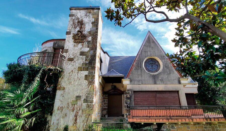 Francisco Pernauterentzat eraiki zuten Villa Nueva Lugariz, 1940ko hamarkadan. (Argazkia: Ancora elkartea)