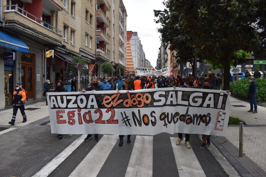 Egia22_manifestazioa