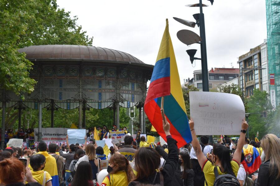 kolonbia protesta