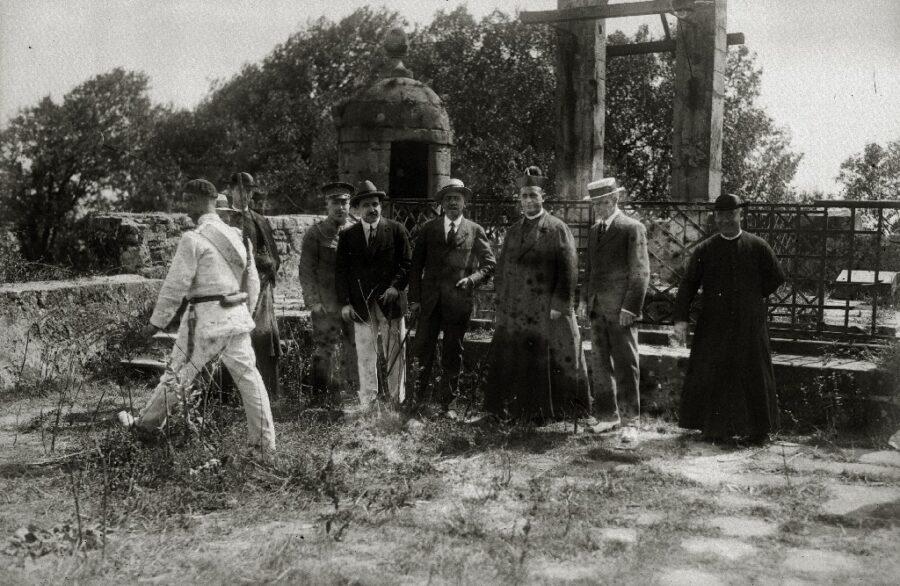 Urgull mendia, 1921. urtean. (Argazkia: Martin Ricardo)