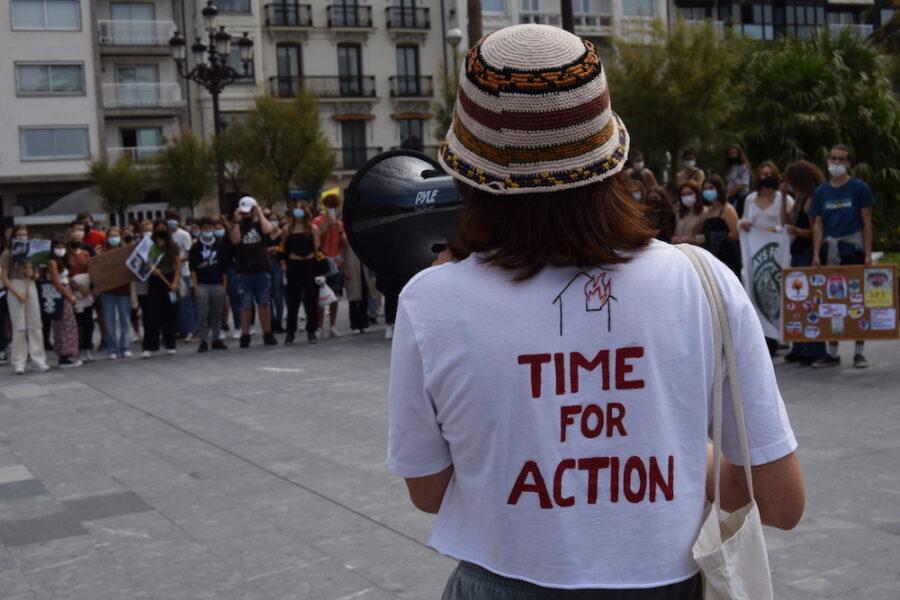 Fridays for future-ren mobilizazioa