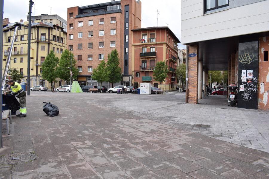 Loiolako Latsarien plaza. (Argazkia: Estitxu Zabala)